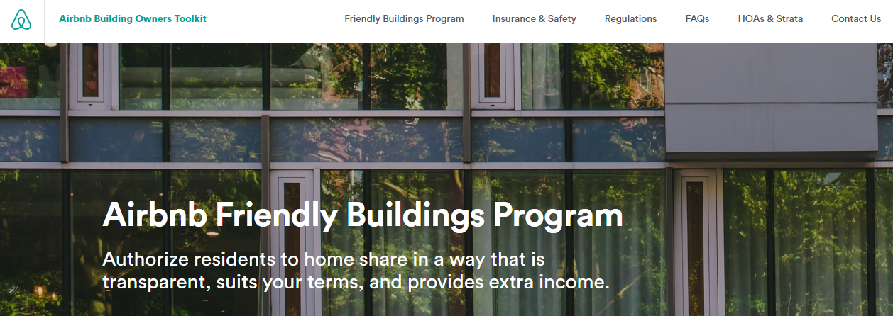 Friendly Buildings Program